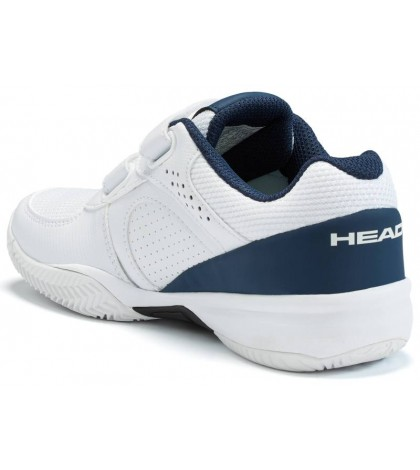 Детски тенис маратонки HEAD SPRINT VELCRO 2.5 KIDS WHITE/NAVY /БЯЛ-НЕЙВИ/ SS2019