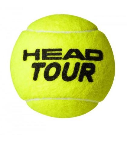 Топки за тенис Head TOUR 4 Balls Can 570704