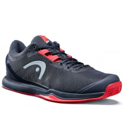 Тенис маратонки HEAD SPRINT PRO 3.0 CLAY MNNR Navy/Neon Red (Нейви) SS2020
