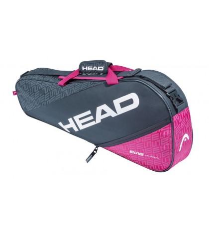 Тенис сак Head Elite Pro 3R ANTHRACITE/PINK 283560 ANPK