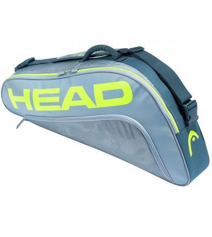 Тенис сак Head Tour Team EXTREME 3R Pro Bag GREY/NEON YELLOW 283461