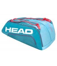Тенис сак Head Tour Team 12R MONSTERCOMBI BAG (BLUE/PINK) 283130BLPK
