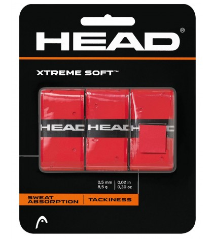 Head XTREME SOFT Overgrip RED /ЧЕРВЕНИ/