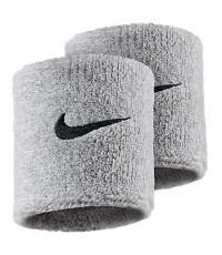 НАКИТНИК NIKE SWOOSH WRISTBANDS GREY/СИВ/