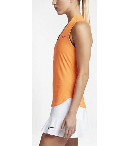 Дамски потник  NIKE COURT FLEX MARIA PREMIER TANK ORANGE/ОРАНЖЕВ/ SS 2017 ШАРАПОВА