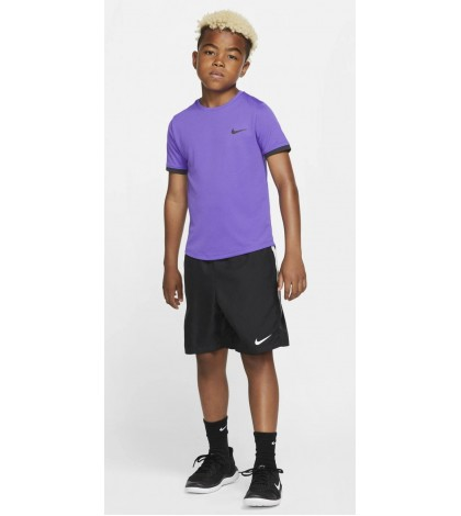 Детска Тениска Nike Boy's Dry T-Shirt Purple/Black (Лилав)