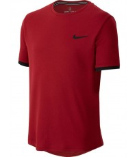 ДЕТСКА ТЕНИСКА NIKE BOYS DRY T-SHIRT CRIMSON/BLACK /БОРДО/