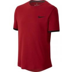 Детска Тениска Nike Boys Dry T-shirt Crimson/Black /Бордо/