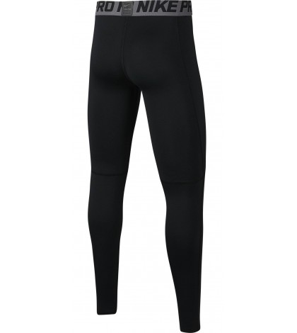 ДЕТСКИ КЛИН NIKE BOY'S PRO TIGHT Black /Черен/ BV3516-010