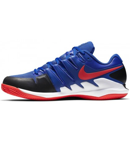 ТЕНИС МАРАТОНКИ NIKE AIR ZOOM VAPOR 10 CLAY BLUE/BLACK/WHITE/RED
