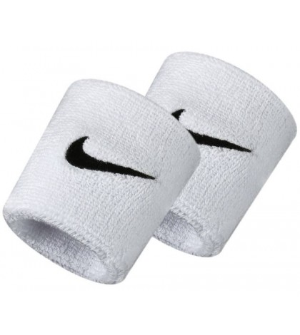 НАКИТНИК NIKE SWOOSH WRISTBANDS WHITE/БЯЛ/