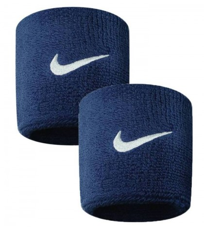 НАКИТНИК NIKE SWOOSH WRISTBANDS NAVY/НЕЙВИ/