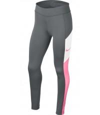 Клин за Момичета Nike Girl's Trophy Tight  (Smoke Grey/Pink)