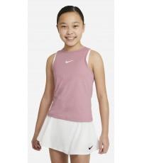 Детски потник Nike Girl's Dri-Fit Victory Tank Elemental Pink/White CV7573-698