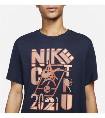 Тениска Nike Court Paris T-Shirt Obsidian(Navy) DD2250-451