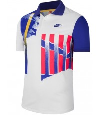 Тениска Nike Court Advantage Athletes Polo NY (Del Potro, Tiafoe, Edmund) CK9793-100