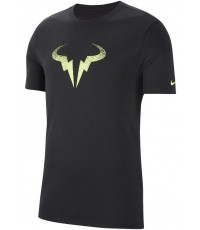 Тениска Nike Court Rafa T-Shirt Black/Lime CW1534-010