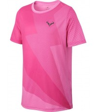 ДЕТСКА ТЕНИСКА NIKE BOYS DRY RAFA GRAPHIC T-SHIRT PINK