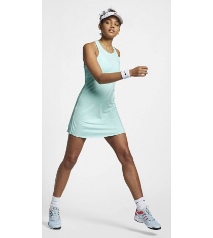 Дамска Рокля NIKE WOMEN'S COURT DRY DRESS TEAL TINT/WHITE 939308-336