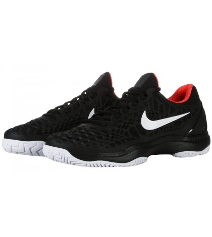 ТЕНИС МАРАТОНКИ NIKE MEN'S ZOOM CAGE 3 ALL COURT BLACK/CRIMSON 2019