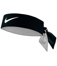 Лента за глава NIKE TENNIS HEADBAND BLACK/WHITE /ЧЕРЕН/