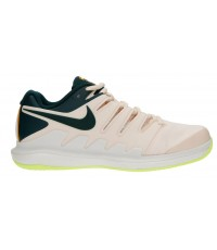 ДАМСКИ ТЕНИС МАРАТОНКИ NIKE AIR ZOOM VAPOR 10 CLAY LIGHT PEACH/GREEN/BLACK AA8025-802