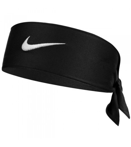 Лента за глава NIKE COURT HEADBAND DRI-FIT 2.0 BLACK /ЧЕРЕН/