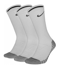 ЧОРАПИ NIKE DRY CUSHION CREW TRAINING SOCKS (3 PAIR) WHITE/БЕЛИ/ SX5547