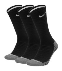 ЧОРАПИ NIKE DRY CUSHION CREW TRAINING SOCKS (3 PAIR) BLACK/ЧЕРНИ/ SX5547