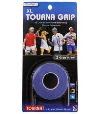 TOURNA GRIP ORIGINAL XL OVERGRIP 3 Per Pack Light Blue /Светло-Син/ Ferrer, Anderson, Gasquet