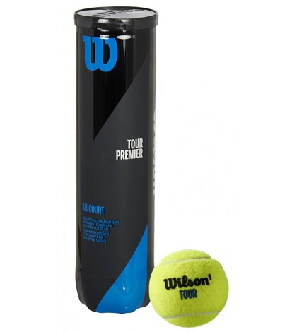 Тенис топки Wilson Tour Premier 4 Balls Can
