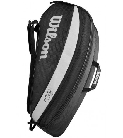 Тенис сак Wilson FEDERER TEAM 6 PACK BLACK/GREY