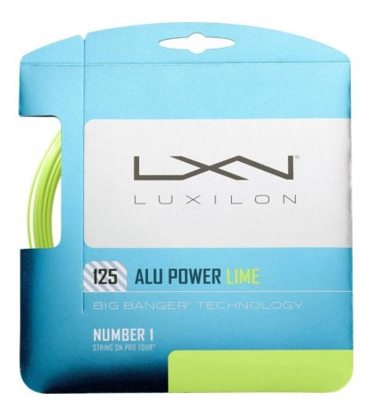 Тенис кордаж LUXILON BIG BANGER ALU POWER LIME Set /ЛАЙМ/