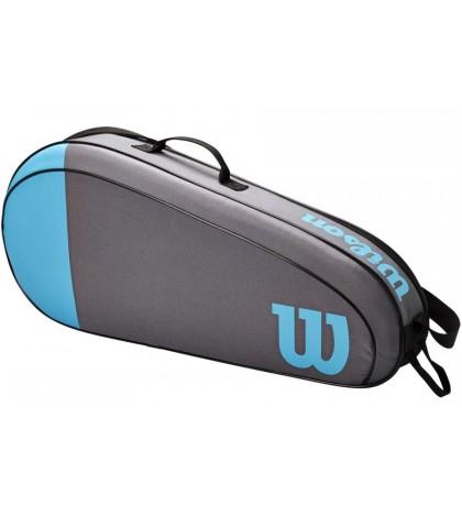 Тенис сак Wilson TEAM 3 RACKETS BAG BLUE/GREY /СИН-СИВ/