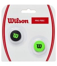 Антивибратор WILSON PRO FEEL BLADE DAMPENER  (Черно - Зелен)