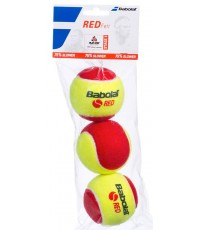Babolat Red Felt 3 Balls Can - Тенис топки