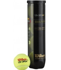 Wilson US Open 4 Balls Can - Тенис топки