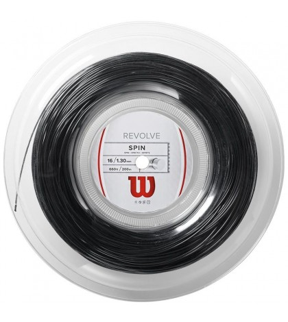 Wilson Revolve String Reel Black - Тенис кордажи
